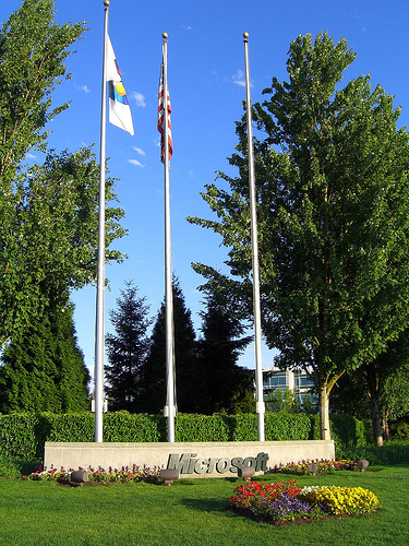 Microsoft Campus Redmond - foto af Humpalumba - flickr.com/photos/humpalumpa/