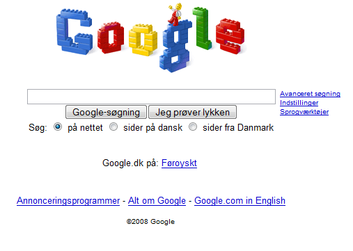 Google LEGO-logo