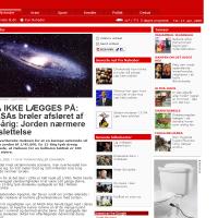 B.T.: MÅ IKKE LÆGGES PÅ