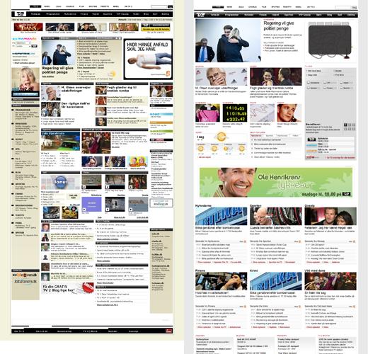 Screenshot af beta.tv2.dk og tv2.dk