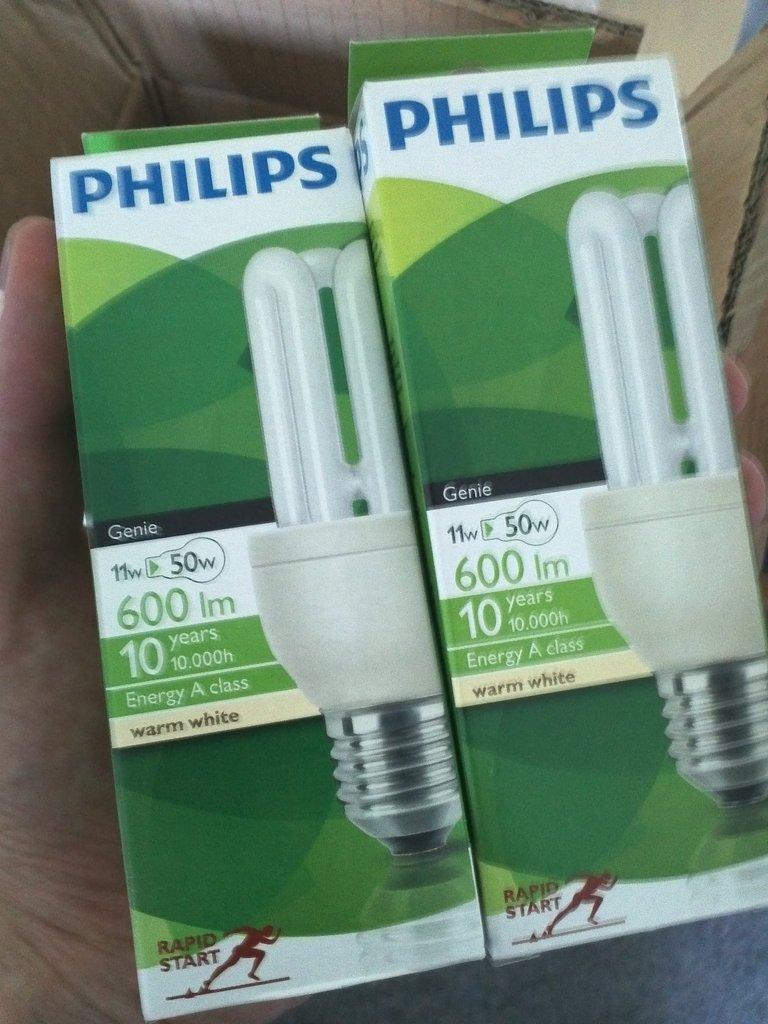 To nye sparepærer fra Philips